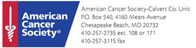 American Cancer Society - Calvert County Unit